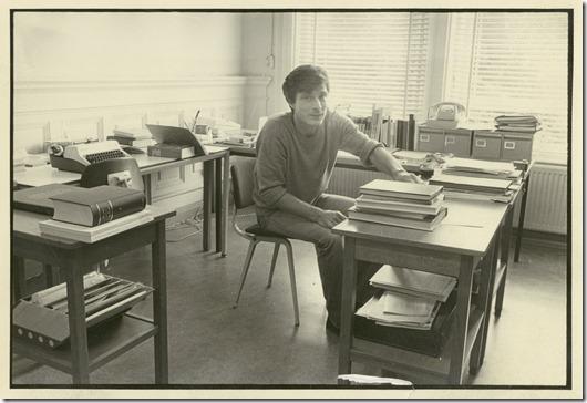 afbeelding Manfred Bock in de Droogbak, 1983
